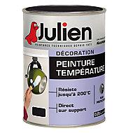 Peinture haute température 200°C Julien noir 0,25L