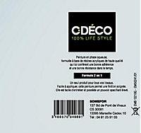 Peinture intérieur satin 2 en 1 toutes pièces & tous supports perle de pluie CDECO 2,5L