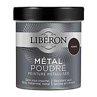Peinture métallisée bois intérieur Liberon Métal poudré fonte mat 0,5L