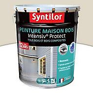 Peinture maison bois Intensiv Protect Beige patiné 8L