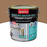 Peinture maison bois Intensiv Protect Marron 2L