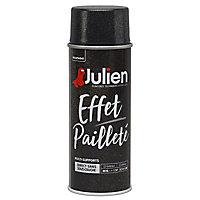 Peinture multi-supports en aérosol Julien effet pailleté argent 400ml