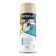 Peinture multi-supports en aérosol Renaulac ivoire satin 400ml