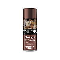 Peinture multi-supports en aérosol Tollens Design et vous cuivre satin 400ml
