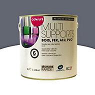 Peinture multi-supports extérieur Colours acier satin 2L
