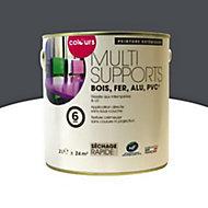 Peinture multi-supports extérieur Colours anthracite satin 2L