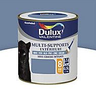 Peinture multi-supports extérieur Dulux Valentine ciel d'orage satin 0,5L