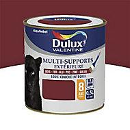 Peinture multi-supports extérieur Dulux Valentine rouge basque 0,5L