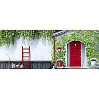 Peinture multi-supports extérieur Dulux Valentine rouge coquelicot satin 0,5L