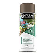 Peinture multi-supports extérieur Renaulac taupe satin 400ml