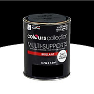 Peinture multi-supports Noir Brillant 0,75L