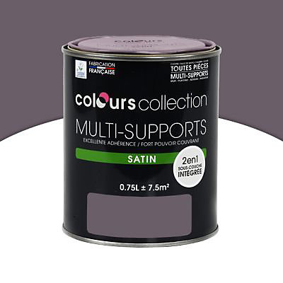 Peinture Multi Supports Prune Satin 0 75l Castorama