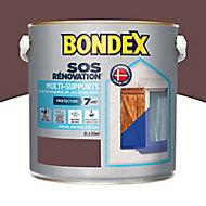 Peinture multi-supports SOS Rénovation 2L brun
