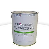 Peinture murs et boiseries Colours Classic blanc satiné 2,5