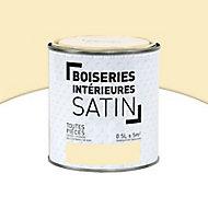 Peinture Murs et boiseries Crème vanille Satin 0,5L