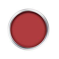 Peinture murs et boiseries Dulux Valentine Color Resist rouge absolu satin 0,75L