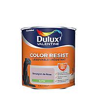 Peinture murs et boiseries Dulux Valentine Color Resist soupçon de rose satin 2,5L