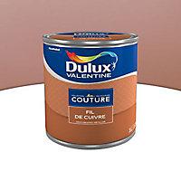 Peinture murs et boiseries Dulux Valentine Couture fil de cuivre satiné 1L