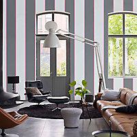 Peinture murs et boiseries Dulux Valentine Couture gris flanelle satiné 0,5L