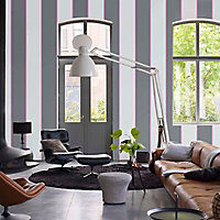 Peinture murs et boiseries Dulux Valentine Couture gris flanelle satiné 2L
