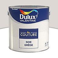 Peinture murs et boiseries Dulux Valentine Couture soie grège satiné 2L
