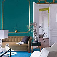 Peinture murs et boiseries Dulux Valentine Couture vert organdi satiné 0,5L