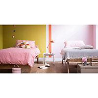 Peinture murs et boiseries Dulux Valentine Crème de couleur baby doll satin 2,5L
