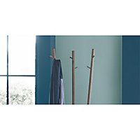 Peinture murs et boiseries Dulux Valentine Crème de couleur bleu paon satin 0,5L