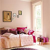 Peinture murs et boiseries Dulux Valentine Crème de couleur bouton de rose satin 0,5L