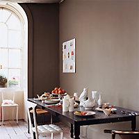 Peinture murs et boiseries Dulux Valentine Crème de couleur marron glacé mat 2,5L