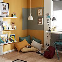 Peinture murs et boiseries GoodHome gris Manhattan satin 2,5L