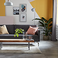 Peinture murs et boiseries GoodHome jaune Gran Via satin 2,5L