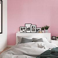 Peinture murs et boiseries GoodHome rose Hyogo satin 2,5L