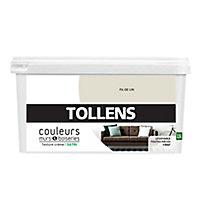 Peinture murs et boiseries Tollens fil de lin satin 2,5L