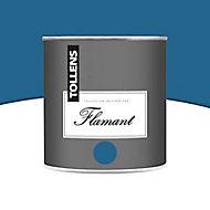 Peinture murs et boiseries Tollens Flamant Carribean blue Mat 0,5L