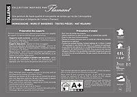 Peinture murs et boiseries Tollens Flamant Pétal Mat 0,5L