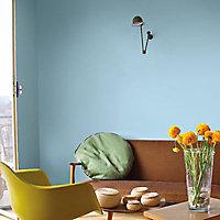 Peinture murs et boiseries Tollens Mise en teinte bleu rétro mat velours 3L