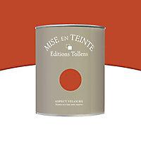 Peinture murs et boiseries Tollens Mise en teinte caramel brûle mat velours 1L