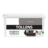 Peinture murs et boiseries Tollens nouveau taupe satin 2,5L