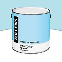Peinture murs et boiseries Tollens Pantone 12-4608 clearwater satin 2L