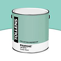 Peinture murs et boiseries Tollens Pantone 14-5711 ocean wave satin 2L