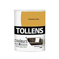 Peinture murs et boiseries Tollens paysage d'ocre satin 0,75L