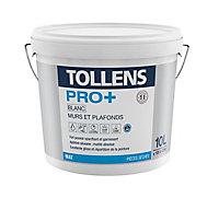 Peinture murs et plafonds Tollens pro+ mat 10L