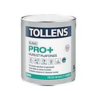 Peinture murs et plafonds Tollens pro+ satin 3L