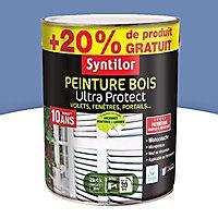 Peinture pour bois extérieur Bleu lavande 2,5L + 20%