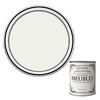 Peinture pour meubles Rust-Oleum blanc antique effet poudré mat intense 125ml