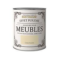 Peinture pour meubles Rust-Oleum crème fouettée effet poudré mat intense 125ml