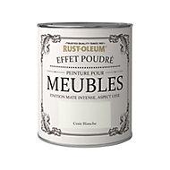 Peinture pour meubles Rust-Oleum craie blanche effet poudré mat intense 0,75L