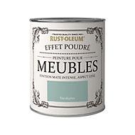 Peinture pour meubles Rust-Oleum eucalyptus effet poudré mat intense 0,75L