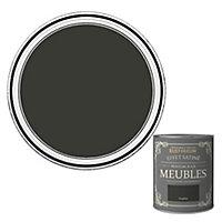 Peinture pour meubles Rust-Oleum graphite effet poudré satin 125ml